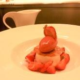 Strawberry & Buttermilk Panna Cotta